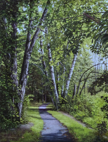 Marlene Wiedenbaum, Leggett Road Rail Trail
